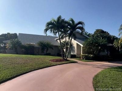 Broward County Single Family Home For Sale: 11400 N Mount Vernon Dr