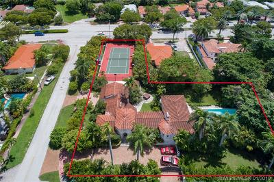 Miami Beach Single Family Home For Sale: 5185 N Bay Rd