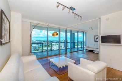 Miami Beach Condo For Sale: 6799 Collins Ave #1506