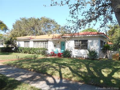 Miami Shores Single Family Home For Sale: 801 NE 98th St