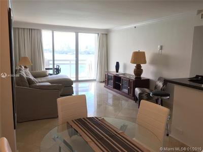 Miami Beach Condo For Sale: 1500 Bay Rd #1420S