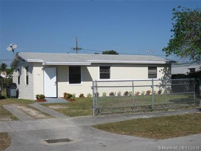 Florida City Single Family Home For Sale: 862 NW 1st St