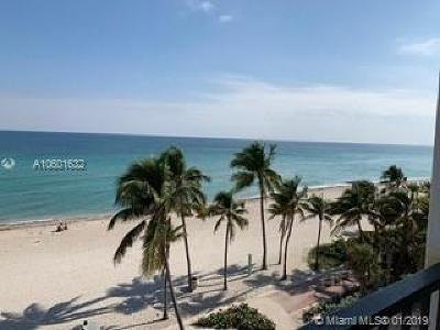 Hollywood Condo For Sale: 2301 S Ocean Dr #501