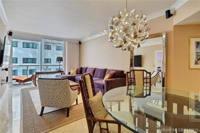 Miami Beach Condo For Sale: 6365 Collins Ave #906