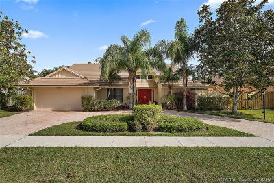 Palm Beach Gardens Single Family Home Active With Contract: 12949 Calais Cir