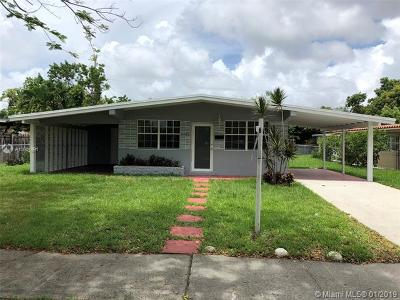 West Miami Single Family Home For Sale: 5721 SW 13th Ter