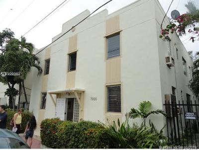 Miami Beach Condo For Sale: 7928 Harding Ave #5