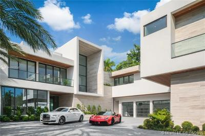 Miami Beach Single Family Home For Sale: 6360/6342 N Bay Rd