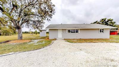 Homestead Single Family Home For Sale: 20920 SW 388th St