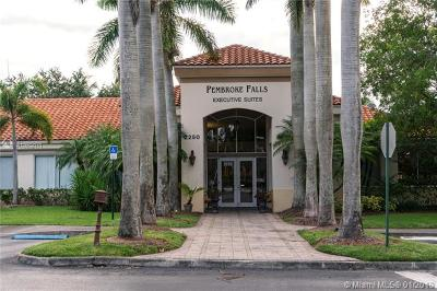 Pembroke Pines Commercial For Sale: 2250 Pembroke Falls Blvd #108