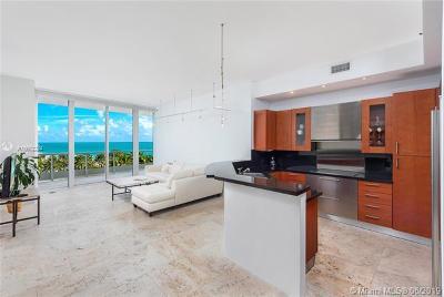 Miami Beach Condo For Sale: 100 S Pointe Dr #708