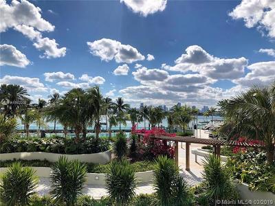 Miami Beach Condo For Sale: 1500 Bay Rd #220S