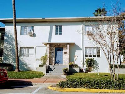 Miami Beach Condo For Sale: 8340 Crespi Blvd #21