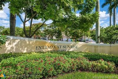 Sunrise Condo For Sale: 11346 NW 33 St #11346