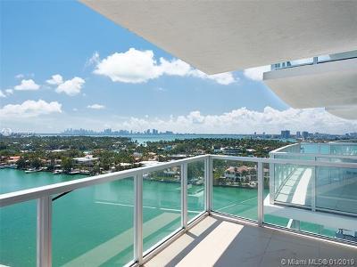 Miami Beach Condo For Sale: 6700 Indian Creek Dr #1502