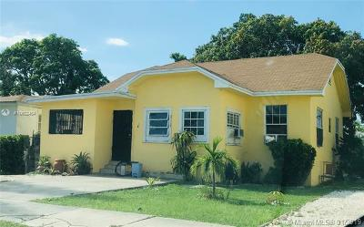 Miami Single Family Home For Sale: 645 NW 47th St