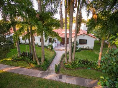 Coral Gables Single Family Home For Sale: 501 Alcazar Ave