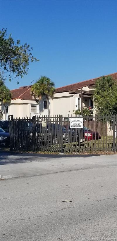 Miami Condo For Sale: 650 W Park Dr #207-4