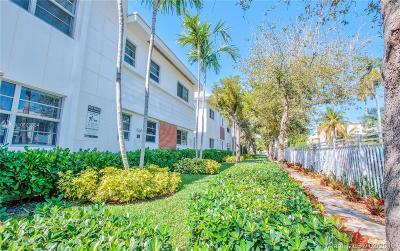 Miami Beach Condo For Sale: 1550 Pennsylvania Ave #110
