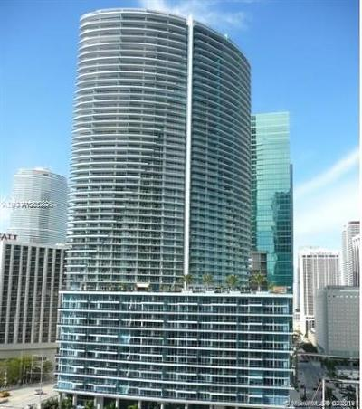 Miami Condo For Sale: 200 Biscayne Boulevard Way #707