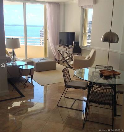 Condo For Sale: 888 Brickell Key Dr #1609