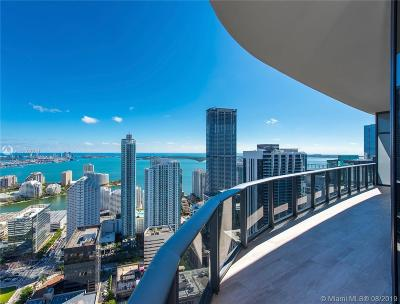 Rental For Rent: 45 SW 9th St #PH4801