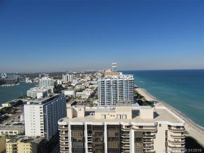Akoya, Akoya Condo, Akoya Condominiums Rental For Rent: 6365 Collins Ave #2709