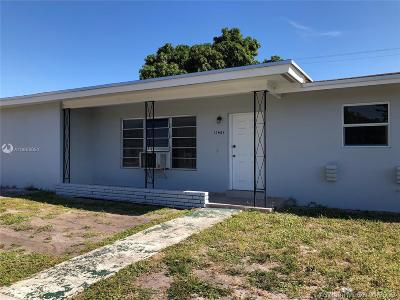 Miami Gardens Single Family Home For Sale: 17401 NW 47th Ave