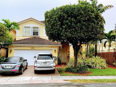 Single Family Home For Sale: 8770 SW 2nd Ter