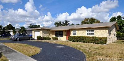 North Lauderdale Single Family Home For Sale: 6619 Pebble Beach
