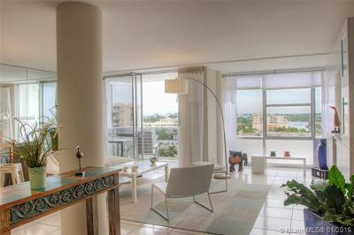Miami Beach Condo For Sale: 900 Bay Dr #903