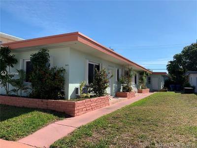 Miami Beach Multi Family Home For Sale: 740 83rd St