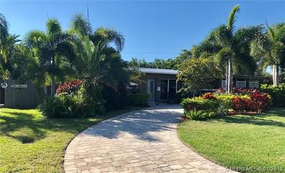 Wilton Manors Single Family Home For Sale: 712 NW 26th St
