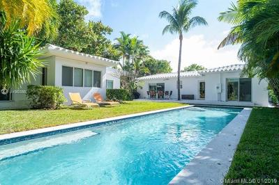 Miami Beach Single Family Home For Sale: 1123 Bay Dr