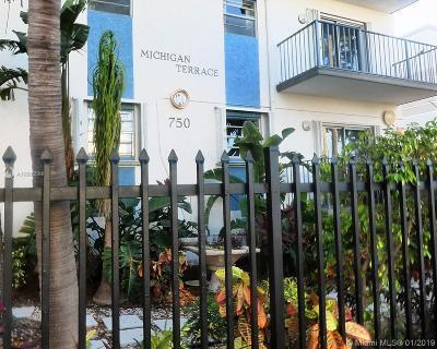 Miami Beach Condo For Sale: 750 Michigan Ave #302
