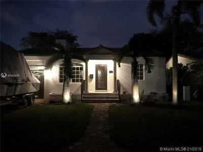 South Miami Single Family Home For Sale: 427 SW 30th Rd