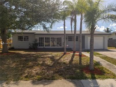Cutler Bay Single Family Home Active With Contract: 9620 Haitian Dr