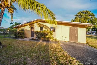Margate Single Family Home For Sale: 6111 NW 20th Ct