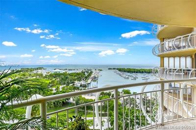 Coconut Grove Condo For Sale: 2843 S Bayshore Dr #12F