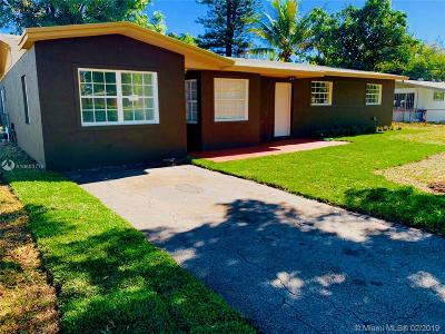 Lauderhill Single Family Home Active With Contract: 650 NW 35th Ave