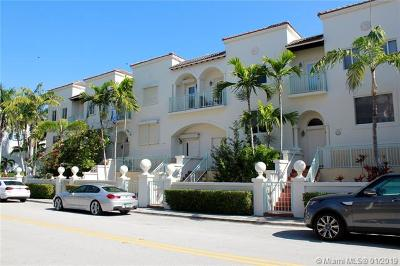 Bay Harbor Islands Condo For Sale: 10073 Bay Harbor Ter #10073