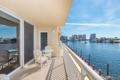 Fort Lauderdale Condo For Sale: 511 Bayshore Dr #410