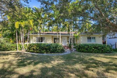 Coral Gables Single Family Home Sold: 1525 Alegriano Ave