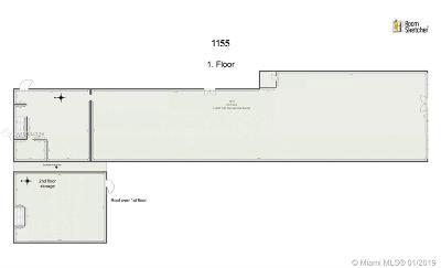 Commercial For Sale: 1155 W Flagler St