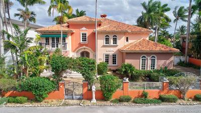 Fort Lauderdale Single Family Home Active With Contract: 528 Coconut Isle Dr