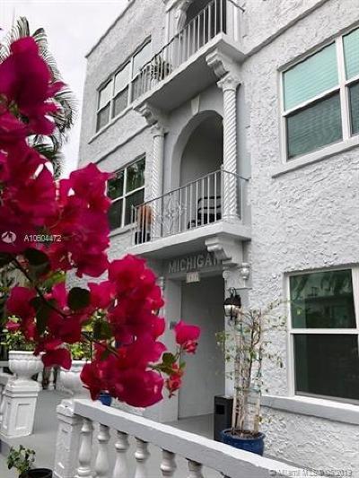 Miami Beach Condo For Sale: 1618 Michigan Ave #1
