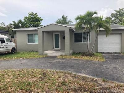 North Miami Single Family Home For Sale: 460 NW 125th St