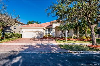 Miramar Single Family Home Active With Contract: 3311 SW 195th Ter