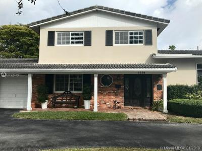 Pinecrest Single Family Home For Sale: 7391 SW 115th St