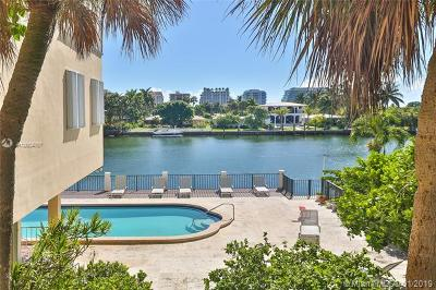 Bay Harbor Islands Condo For Sale: 9341 E Bay Harbor Dr #2D